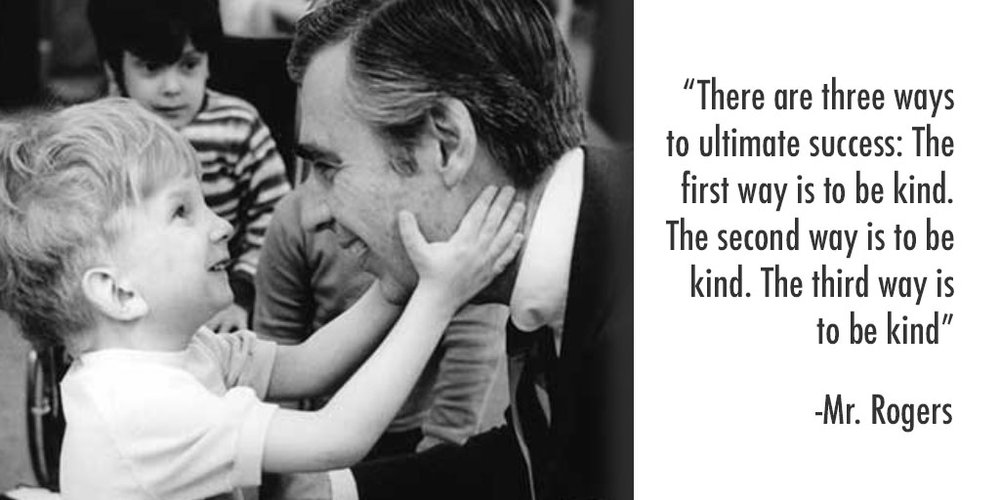 Image result for fred rogers there are three ways