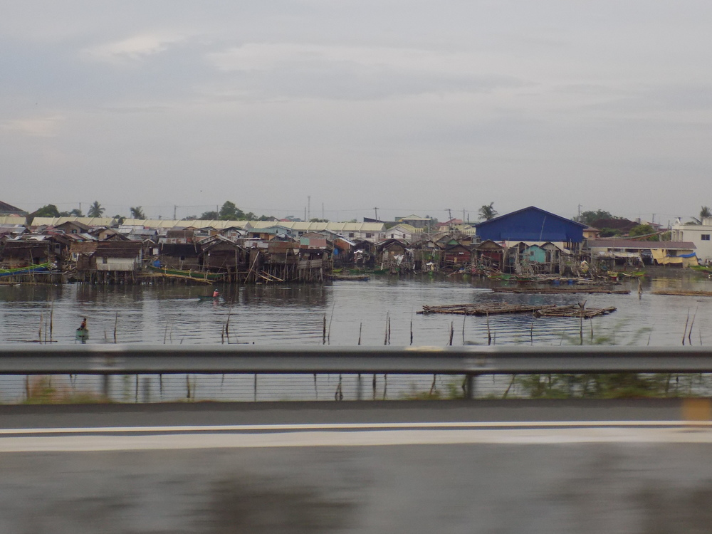 Shacks outside Manila, Philippines