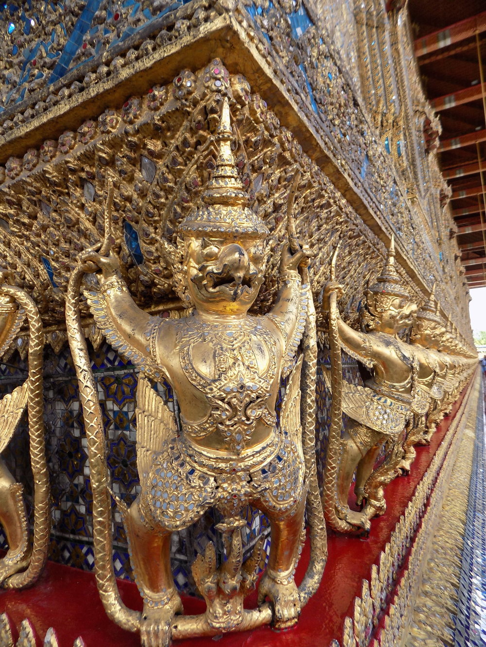 Bangkok's Grand Palace - outside The Emerald Buddah