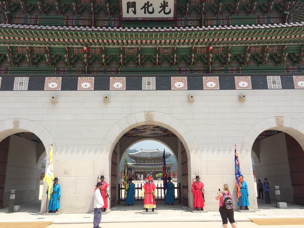 National Guard at Gyeongbokgung Palace