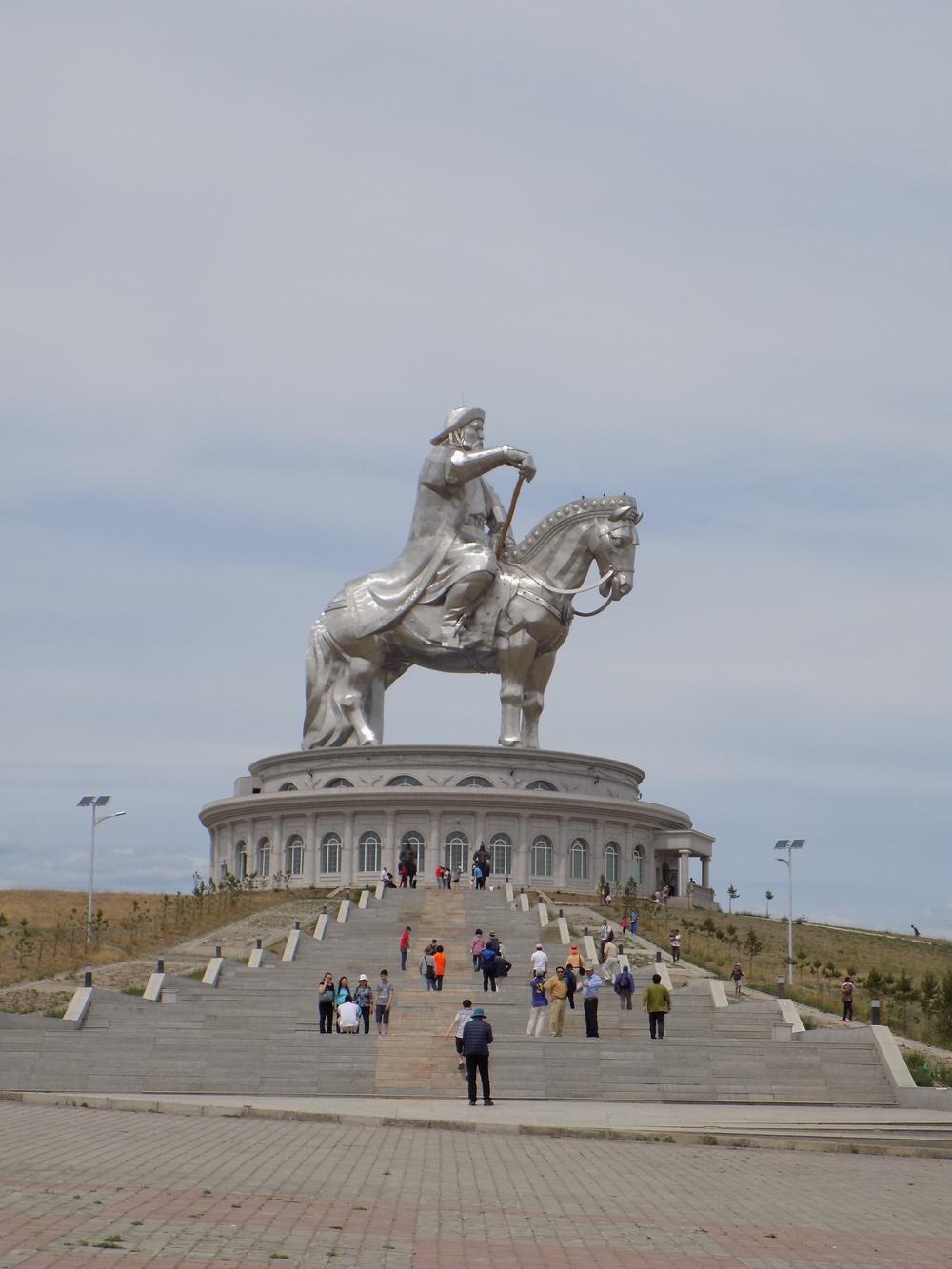 Genghis Khan Equestrian Monument