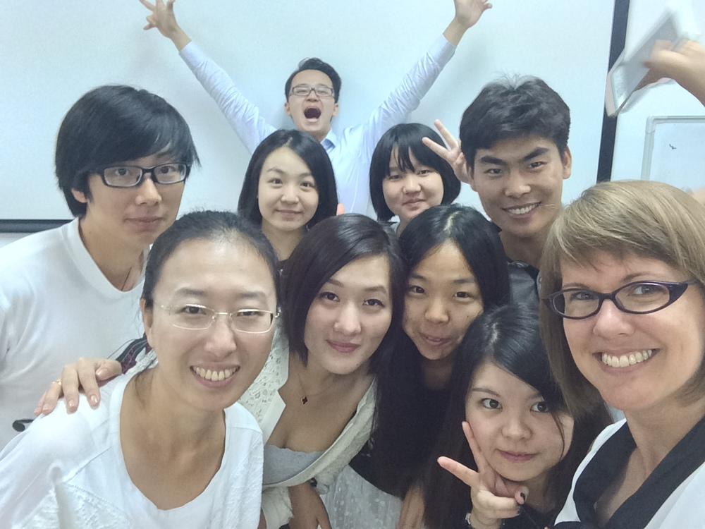 Beijing student selfie :-)