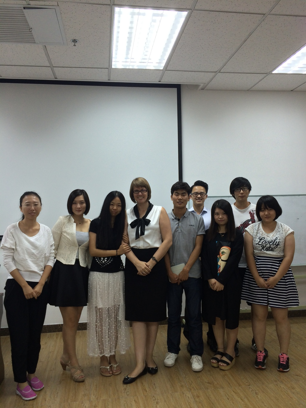 Beijing students in my leadership communications class. What great students!