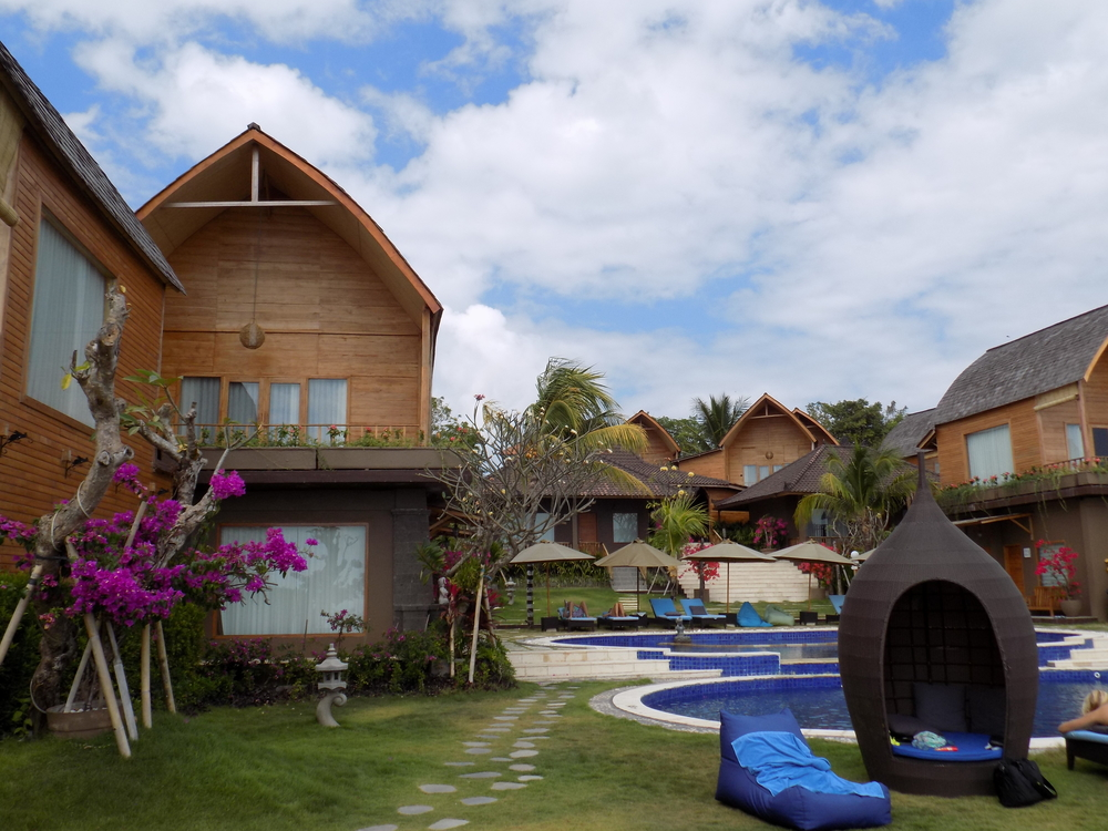 Our one-night stay in Bali