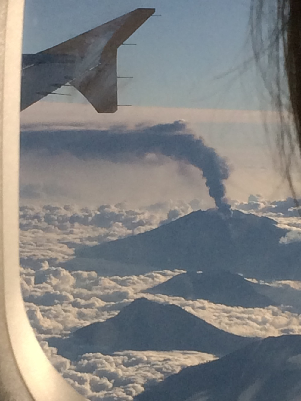 Look at that volcano!!!