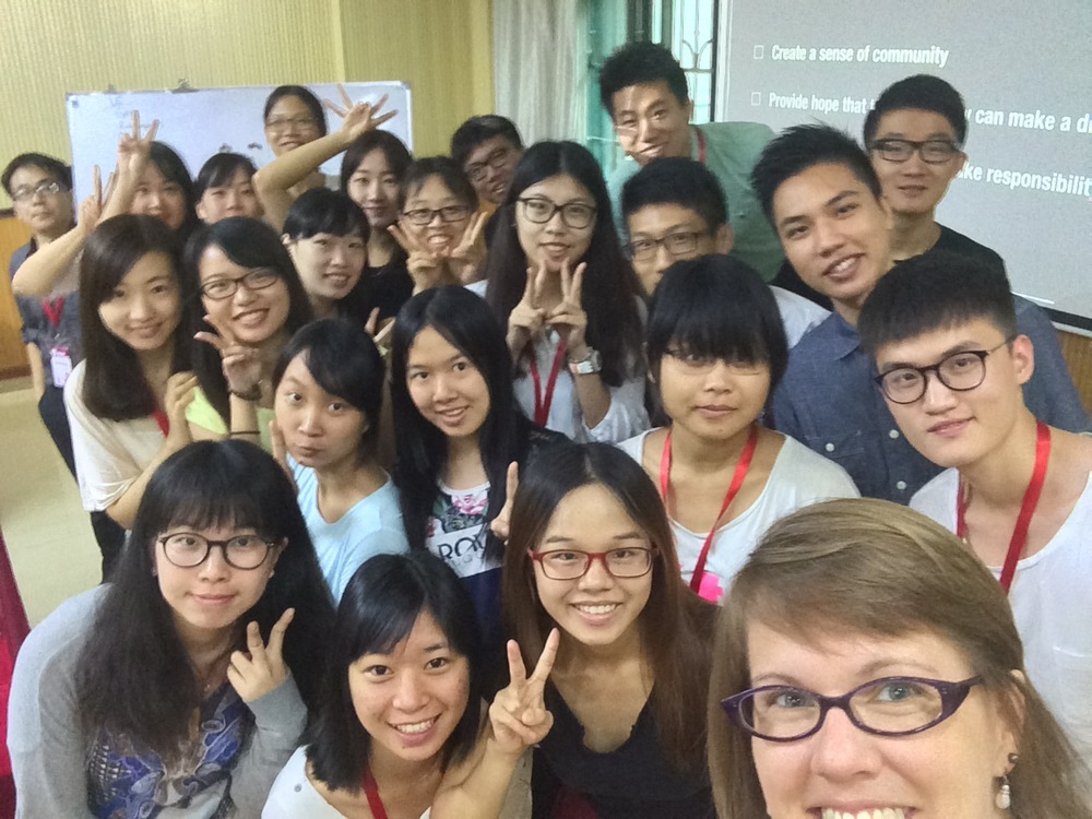 Guangzhou, China - session 1, leadership communications class