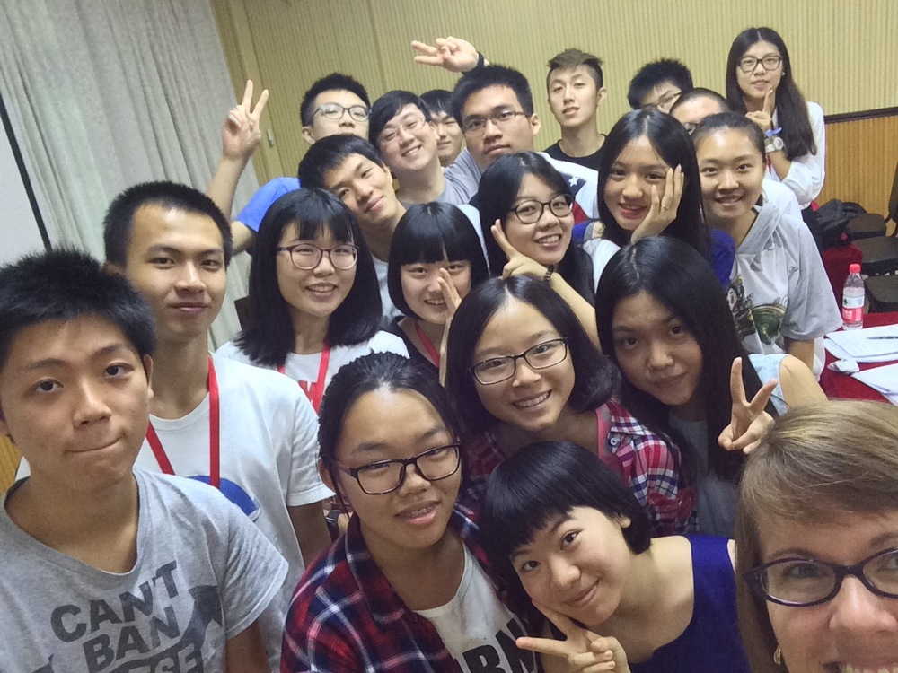 Guangzhou, China - session 2, leadership communications class