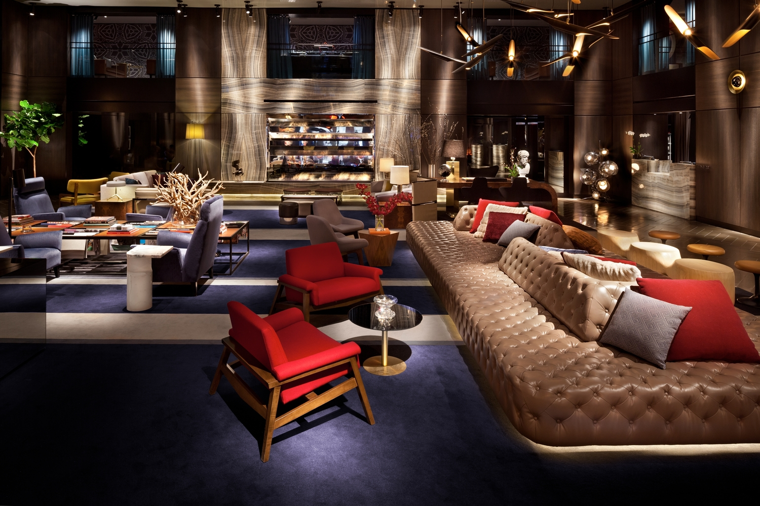 Take Shelter In These 6 Manhattan Hotel Lobbies