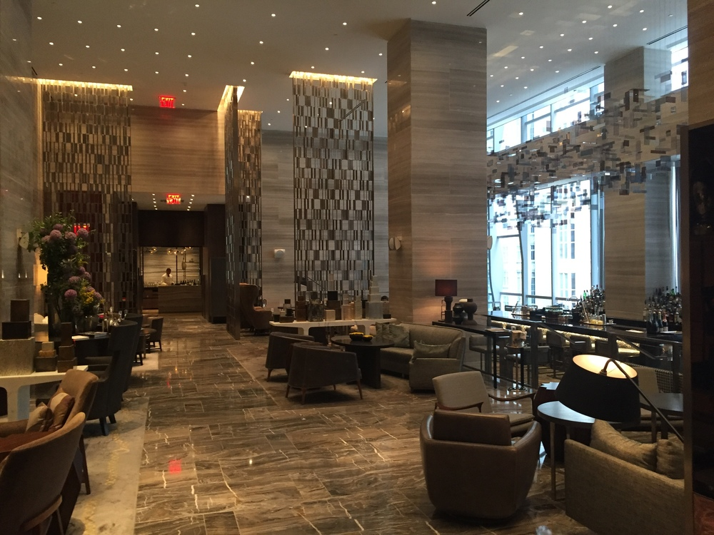 Hudson Hotel Columbus Circle New York City Located On The