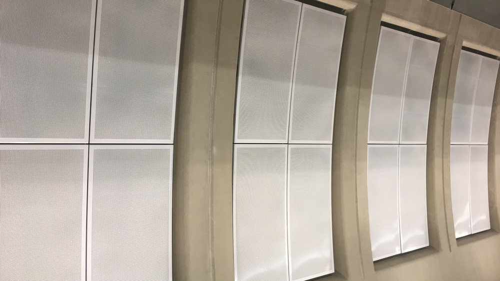 These Panels Absorb Subway Noise