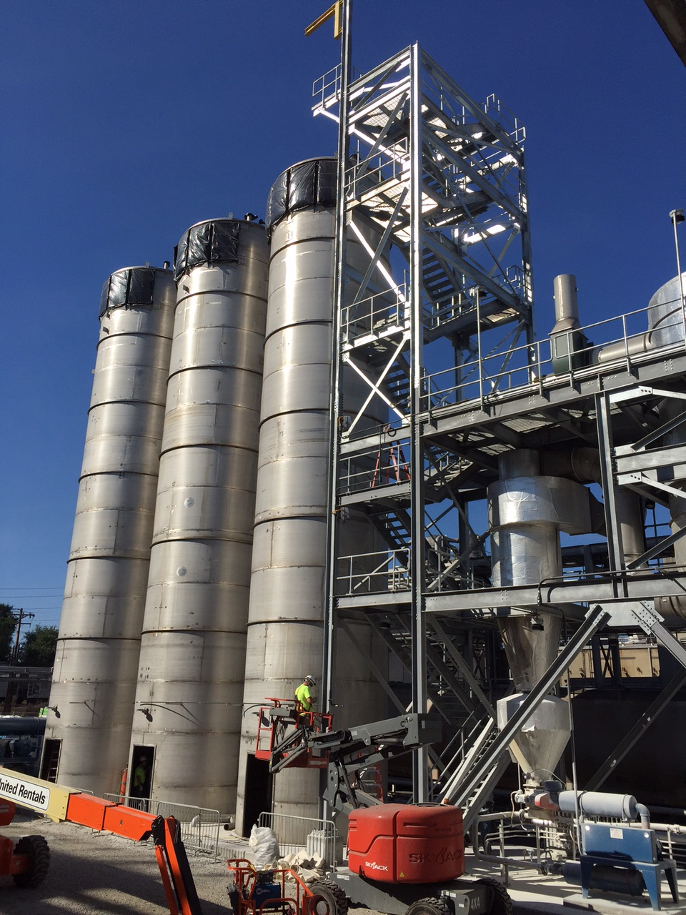 Ingredion Hawk 2 Silo