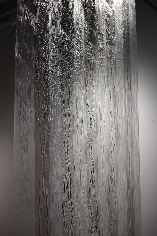 Clear tone; detail 2016 nylon monofilament 270 x 120cm POA