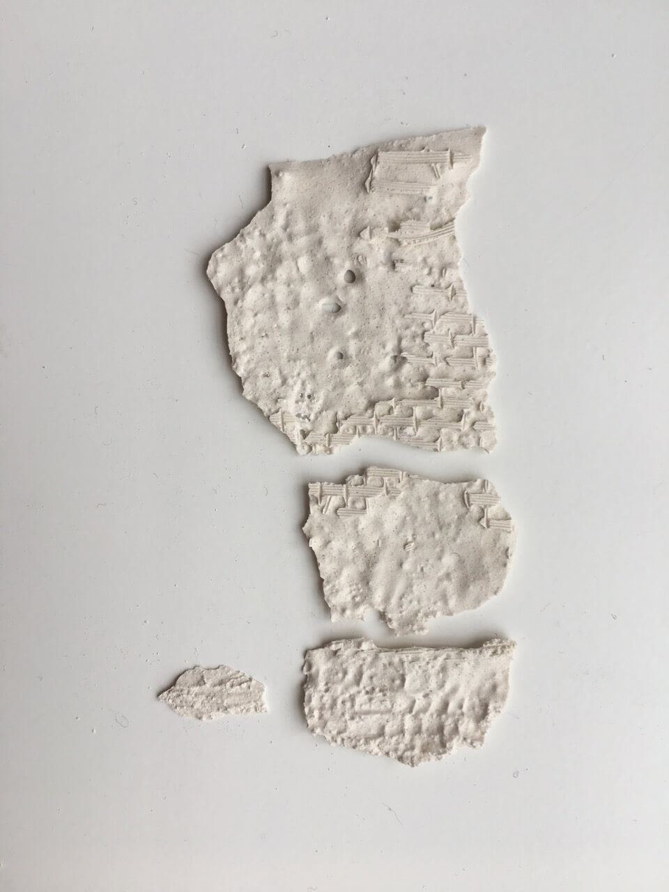 Traces 2018 plaster