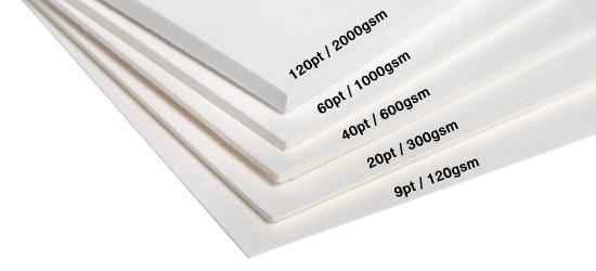 weight of paper sheet