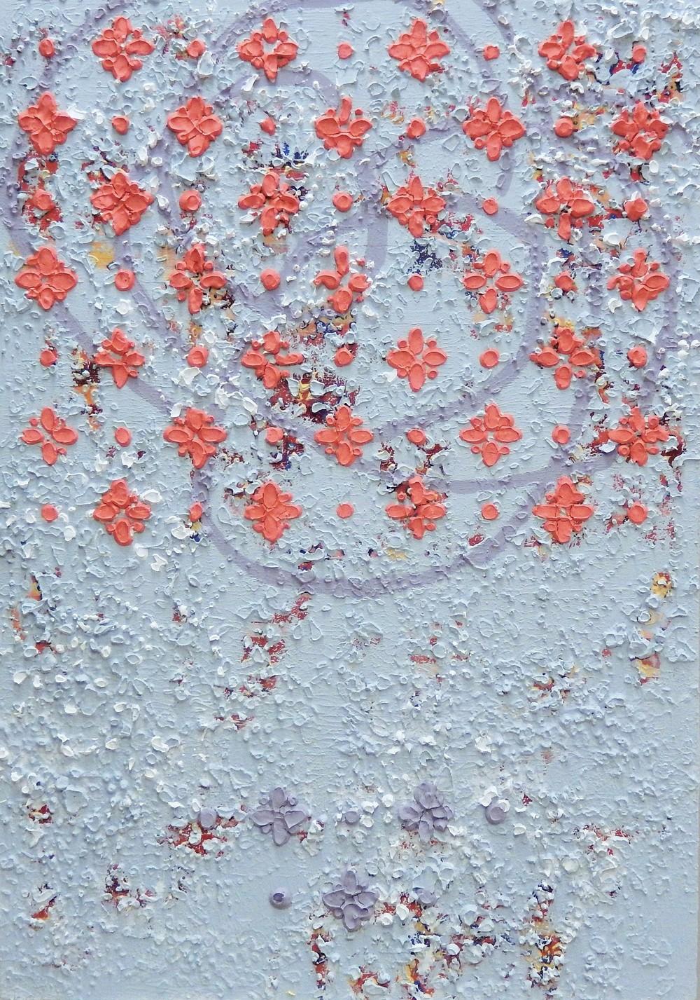 Columbia 2  Acrylic on canvas