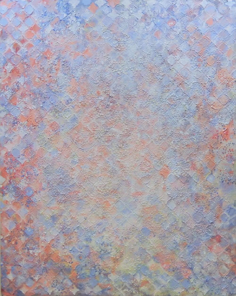 Columbia 1  Acrylic on canvas