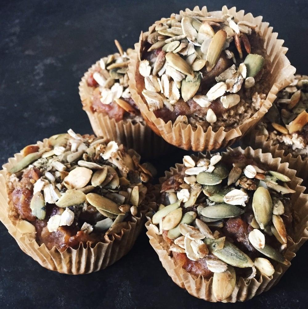 banana bread muffins4