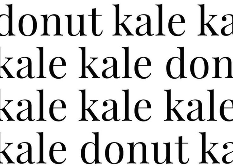kale or donut