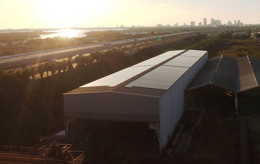 Tampa Tank Skyline Sunset Solar crop2.JPG