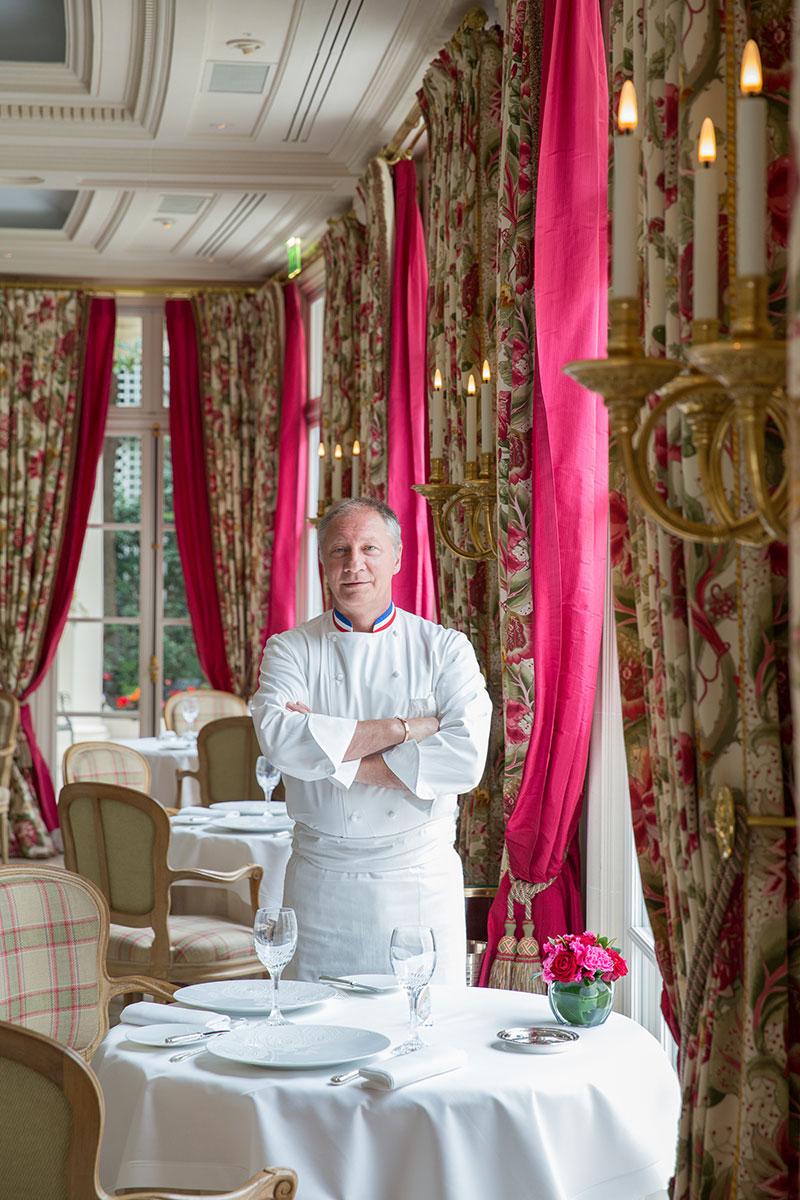 Eric Frechon, Le Bristol, Paris.