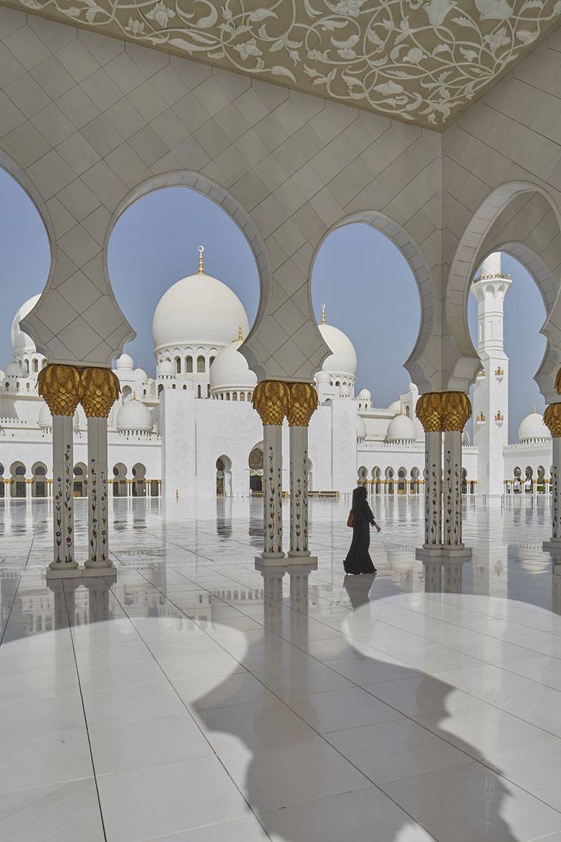 Sheikh Zayed Mosque, Abu Dhabi. AD Middle East.