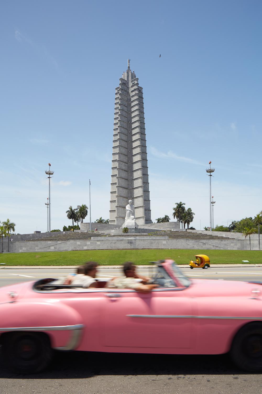 Revolution Square, Havana.