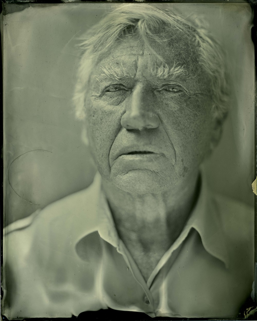 'This man's eyes are our conscience'. Don McCullin, Arles.