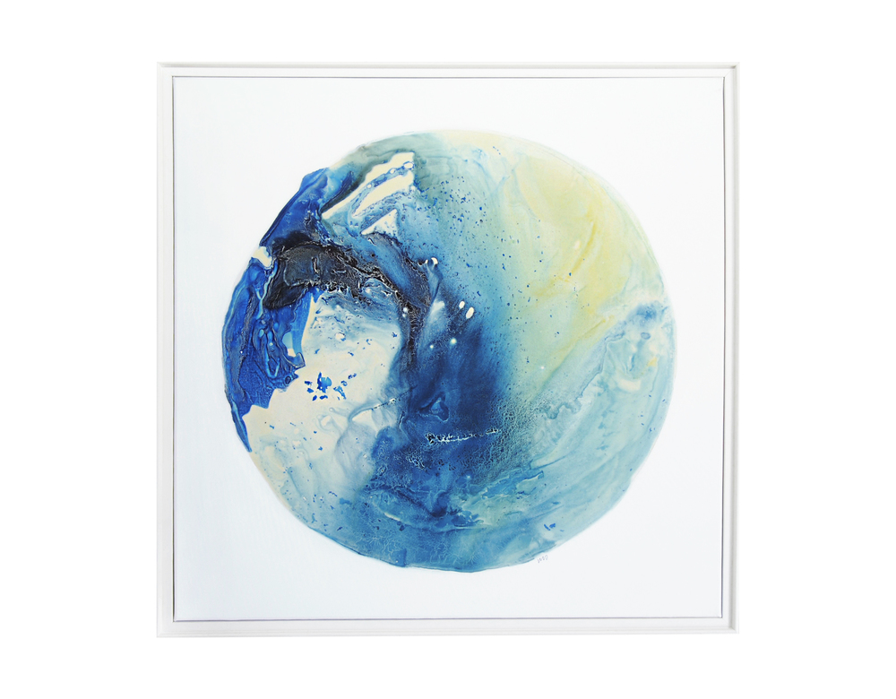 Ocean Series 3, 80x80cm