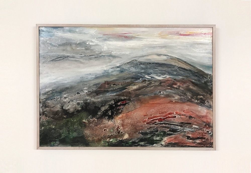 Loughrigg Peak (90x60cm)