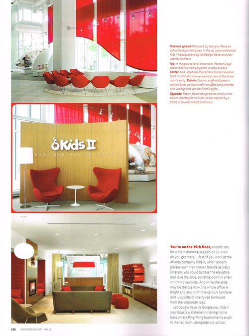 id mag 2012 — the design atelier