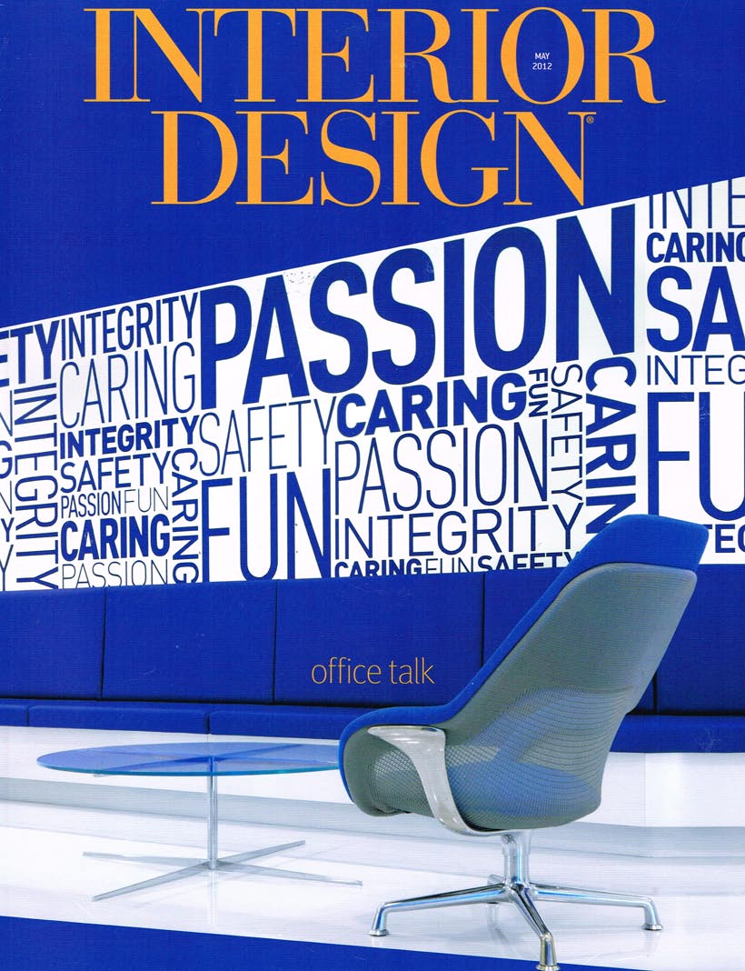Interior Design Magazine 2012 Cover