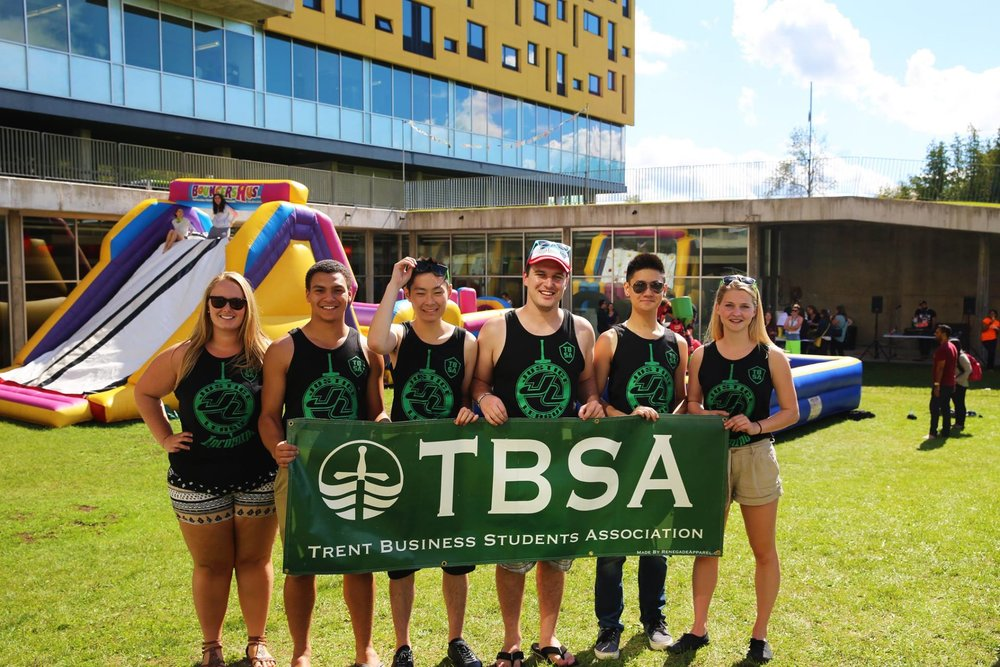 O-Week Carnival - To welcome first year business students to Trent, the TBSA hosted a carnival with inflatable obstacle courses, games, iced cream and more!