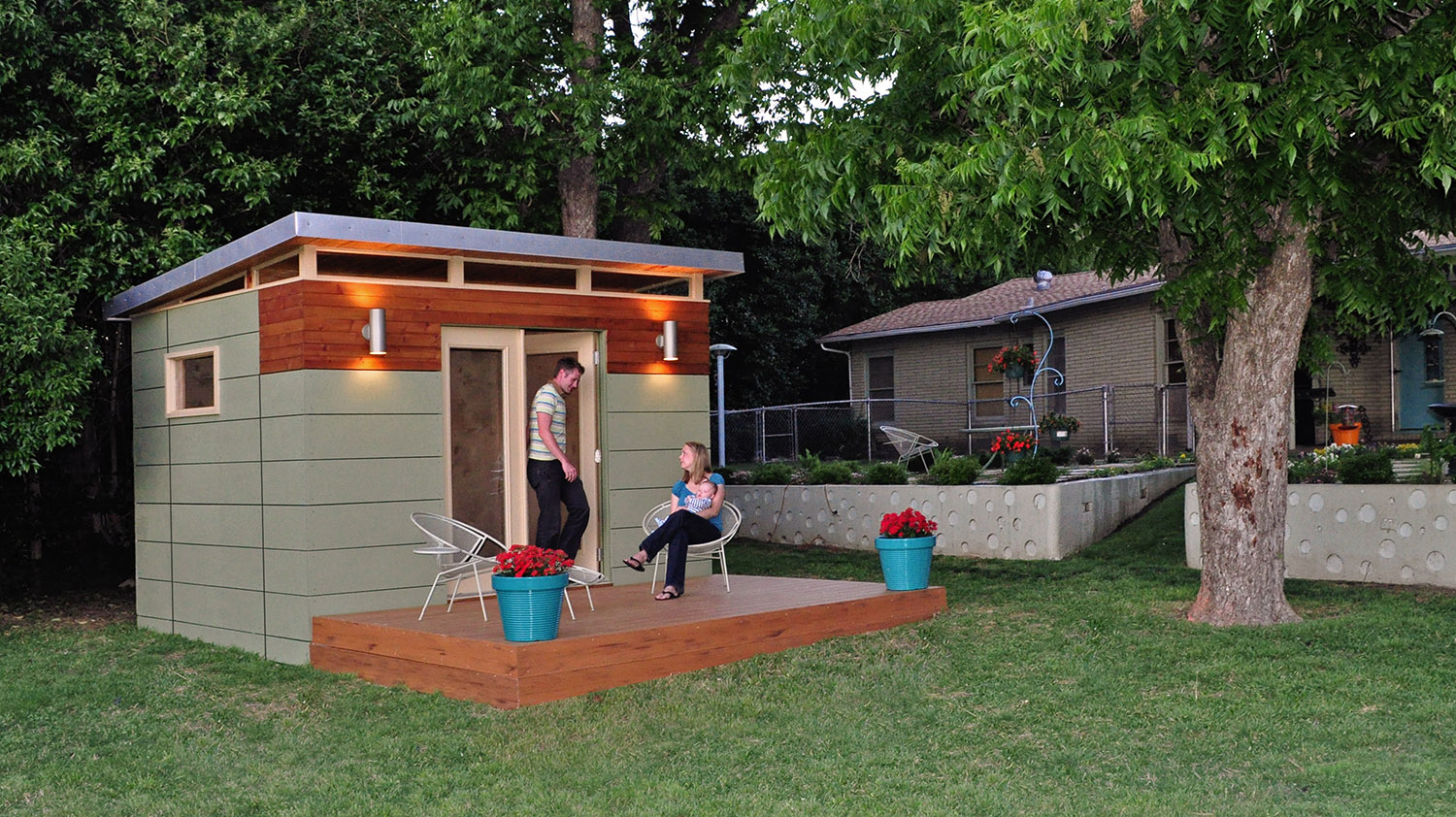 Kanga Room Systems - Prefab backyard office