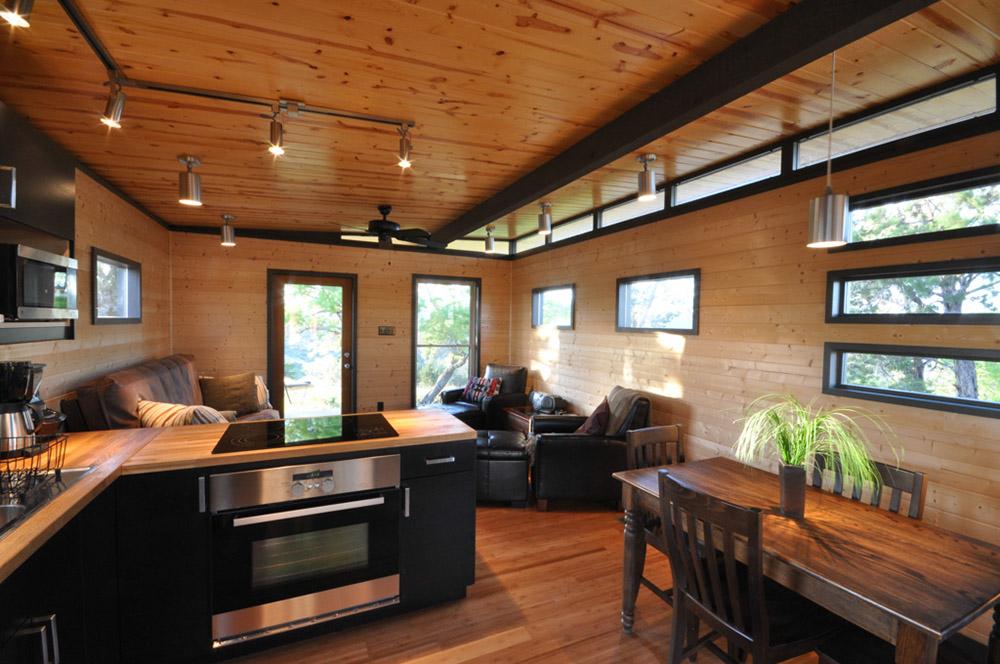 Modern cabin 14x20 14x16 w breezeway kanga room systems for Www home interior