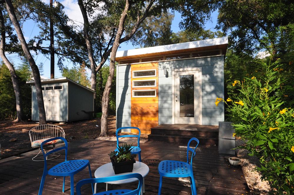 Modern Kwik Room 12x14 Backyard Office Kanga Room Systems