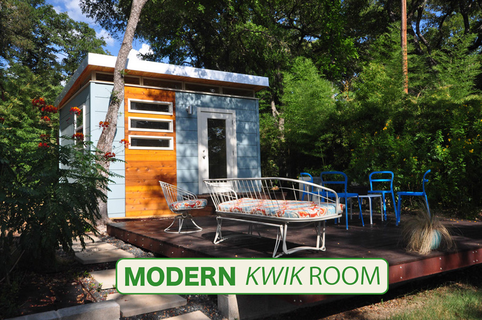 Modern Kwik Room - Backyard offices and studios