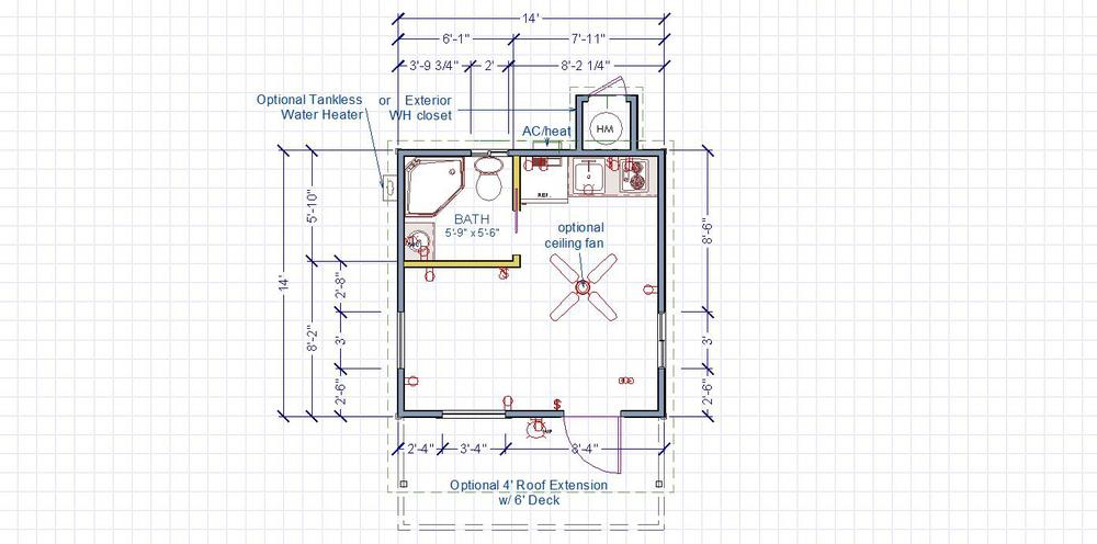 Front Entry Floor Plan
