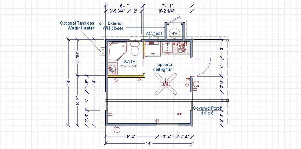 Side Entry Floor Plan