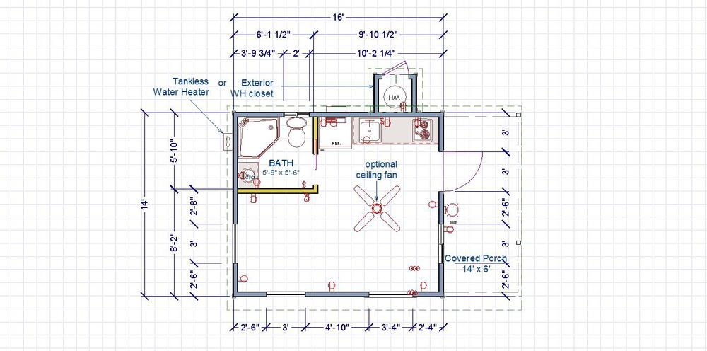 Side Entry Floorplan