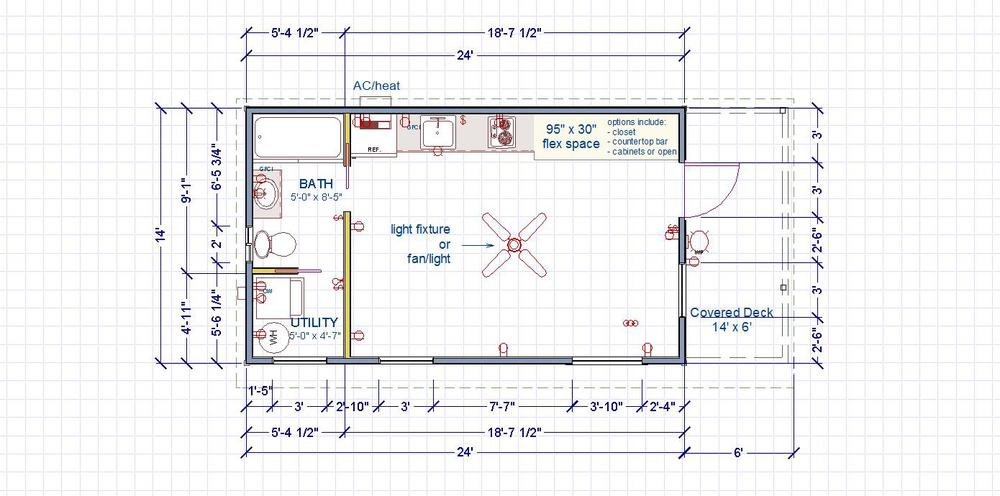 "Side Entry ""Utility"" Floor Plan"