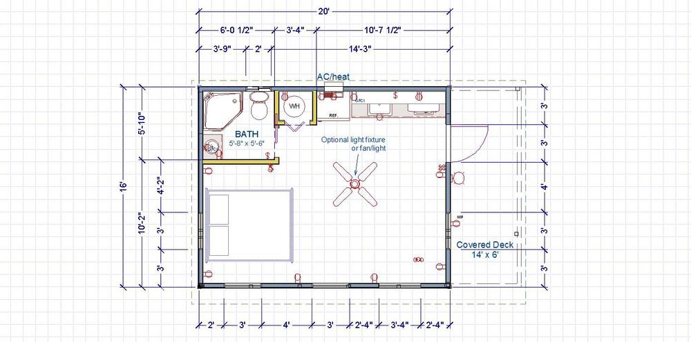 16X20 Cabin Floor Plans on Small House Plans 24x36