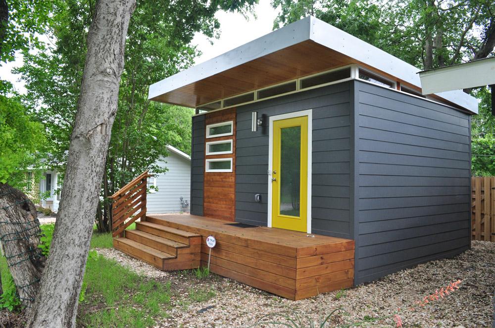 Modern CabinDwelling 14x16 Kanga Room Systems