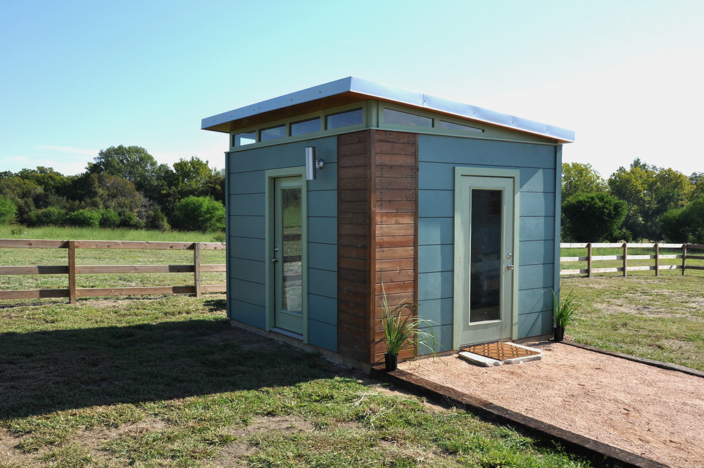 Modern Cabin Compound 16x40 16x32 Kanga Room Systems