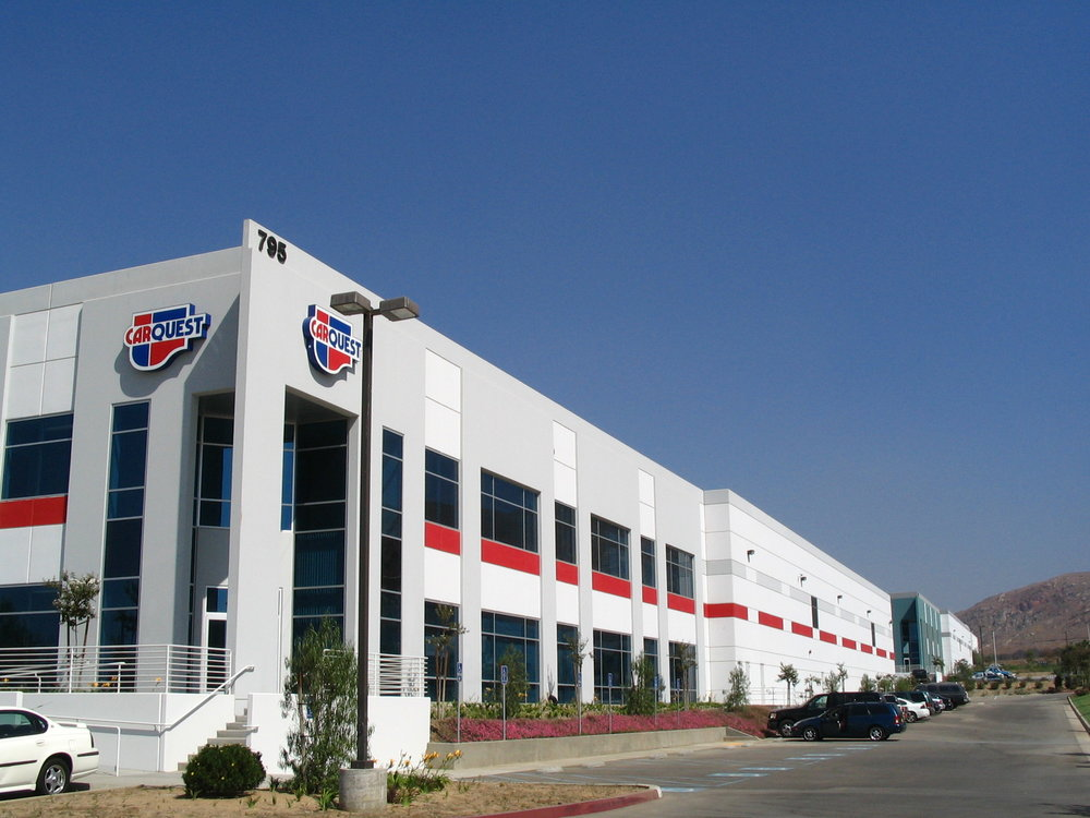 - Car Quest Distribution Center - 125,000 SF | Riverside, CA | $9.3M