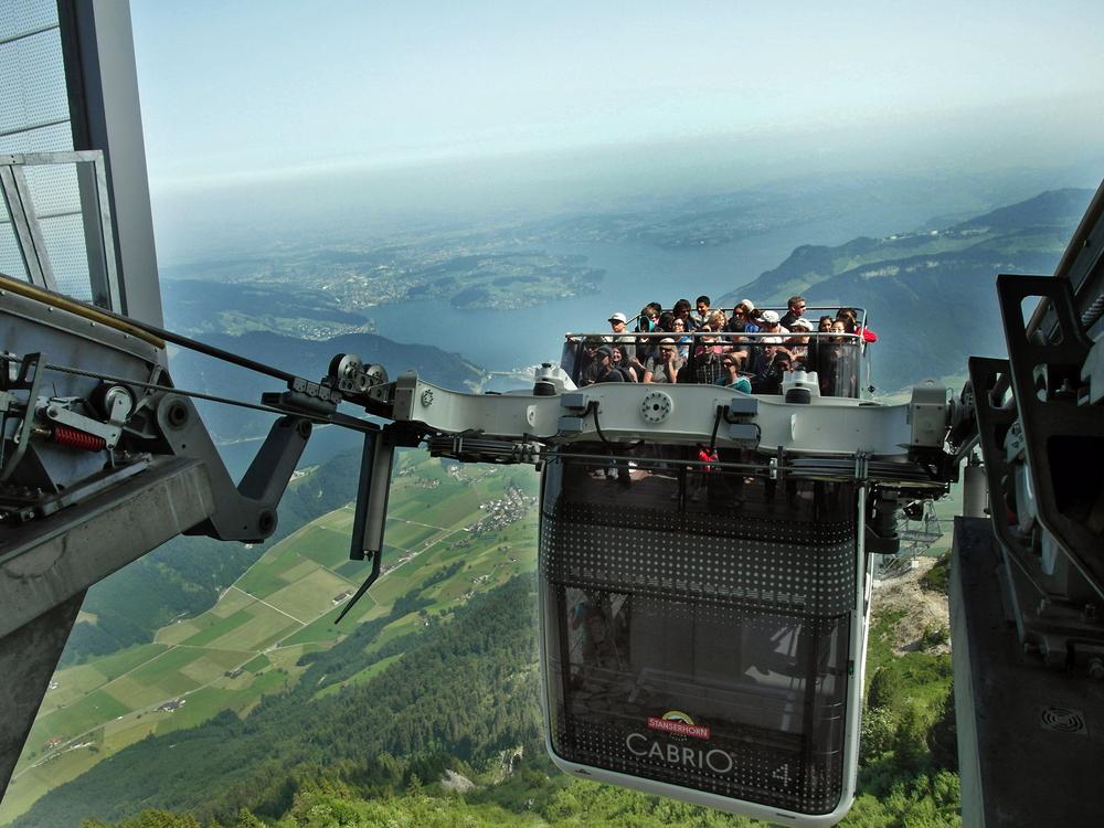 high tech gipfelsturm - Schweizer Bergbahnen