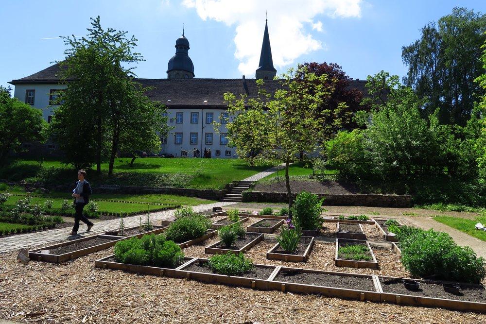 Marienmünsters Klostergarten ist im Entstehen