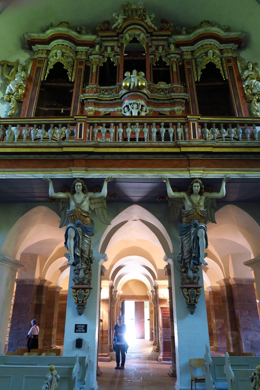 Ein prachtvoller Kirchenraum