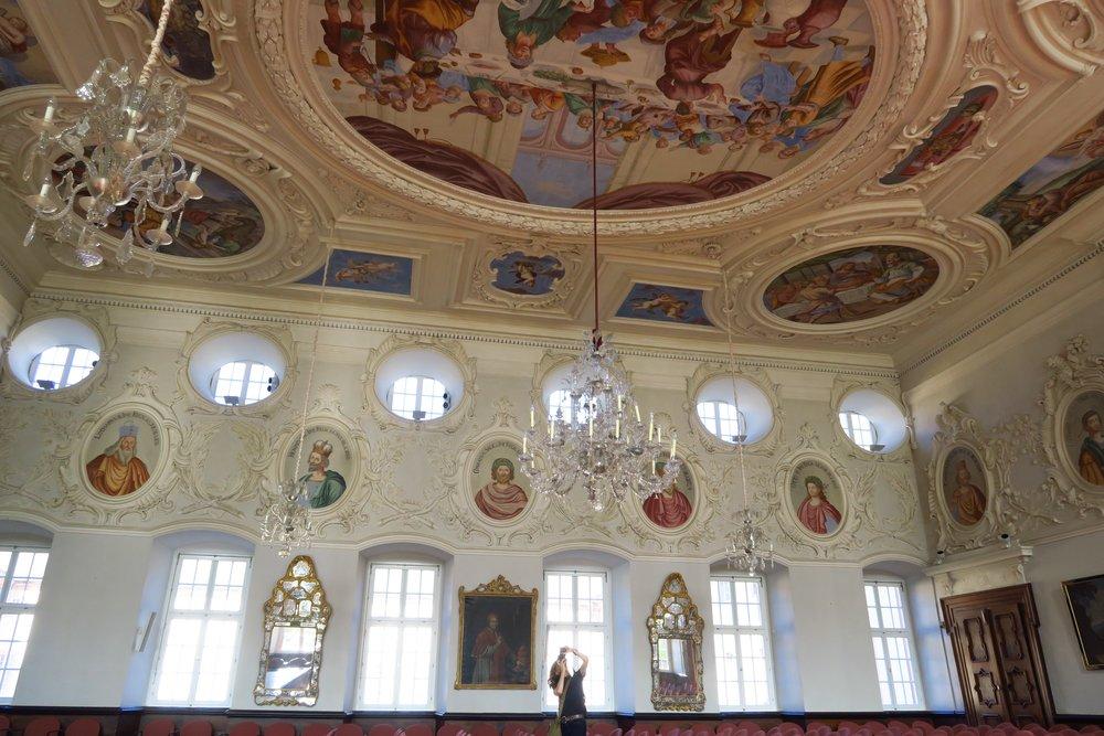 Der reich dekorierte Kaisersaal