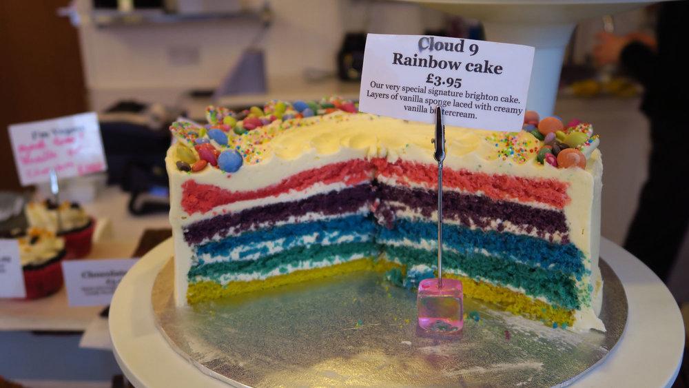 Kunstvoller Kuchen