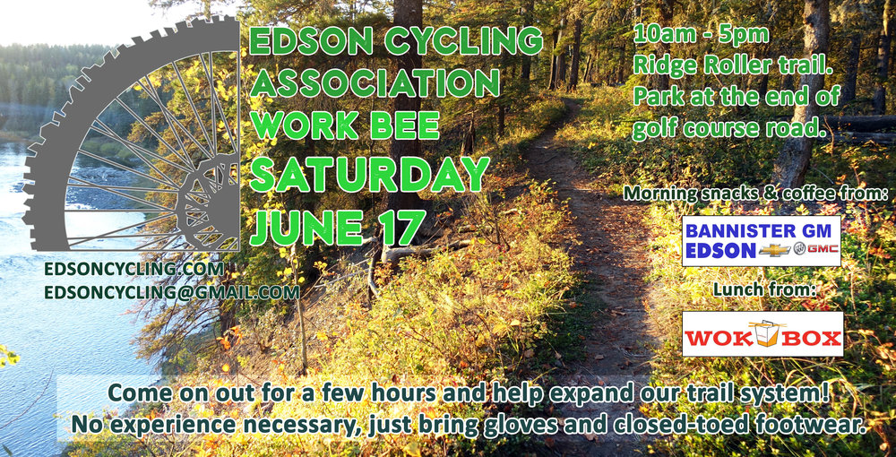 - Come out for a few hours on Saturday and help build some new trail! We'll be out there from 10-5. No experience is necessary, just bring gloves and closed toed shoes.  Morning snacks and lunch will be provided! Park at the end of golf course road.  We will be working on the Ridge Roller trail.